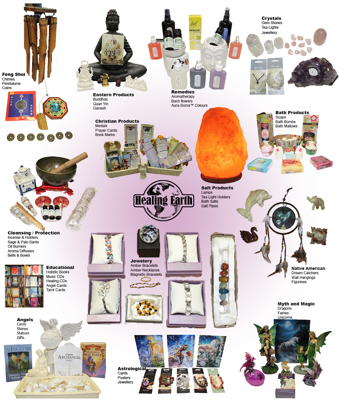 Healing Earth Products